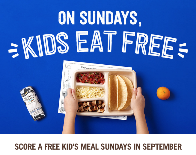 Kids Eat Free Baton Rouge Chipotle