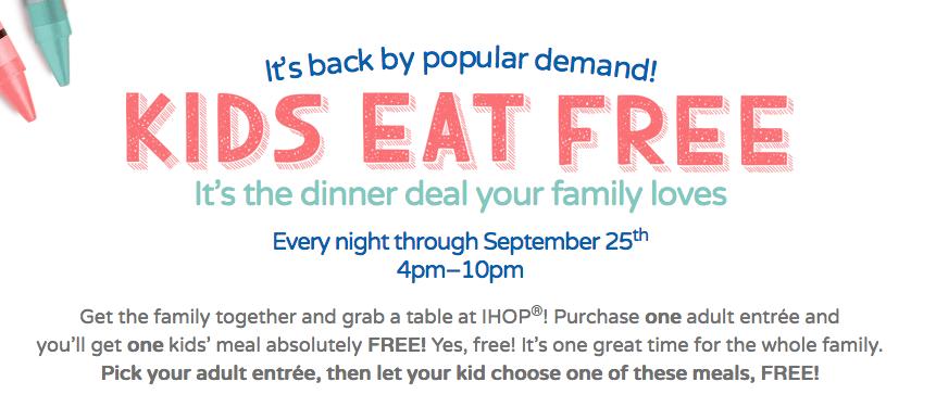Baton Rouge Moms Kids Eat Free