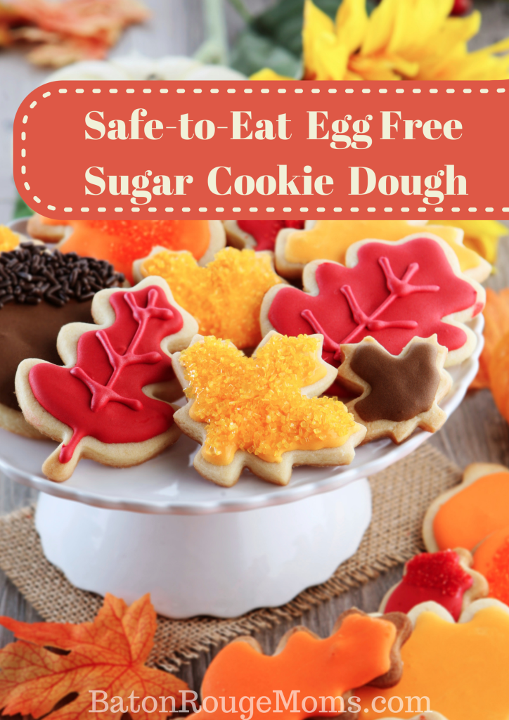 Safe to eat egg free cookie dough