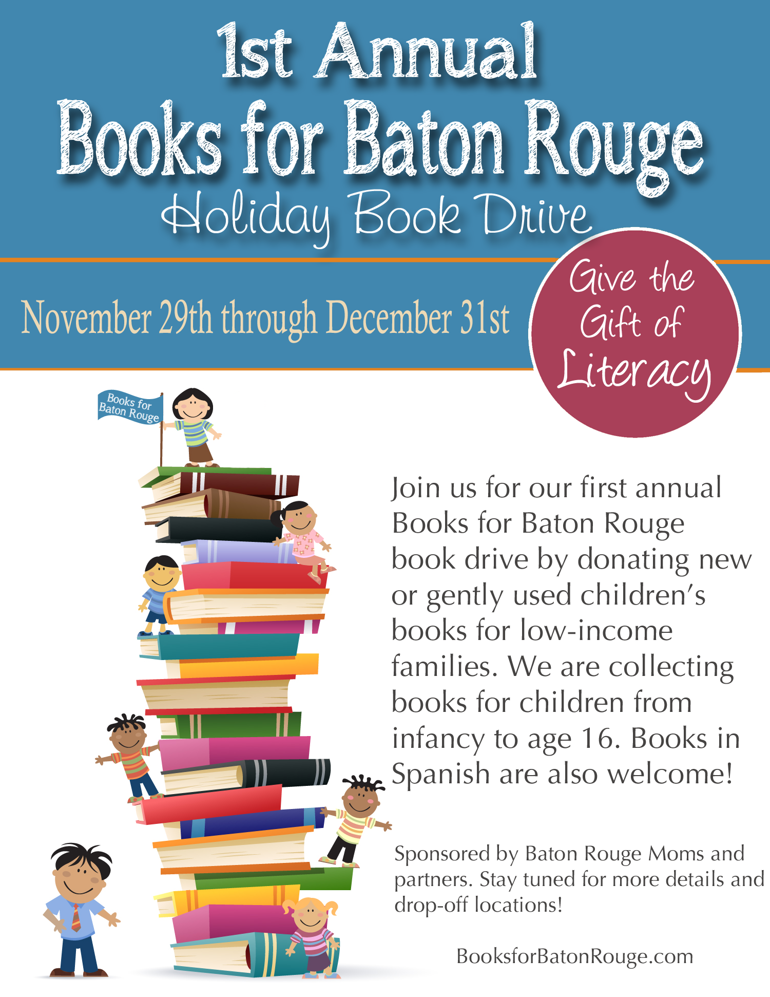 Books for Baton Rouge