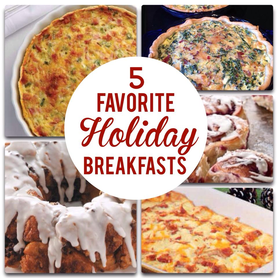 5 Christmas Breakfast Recipes