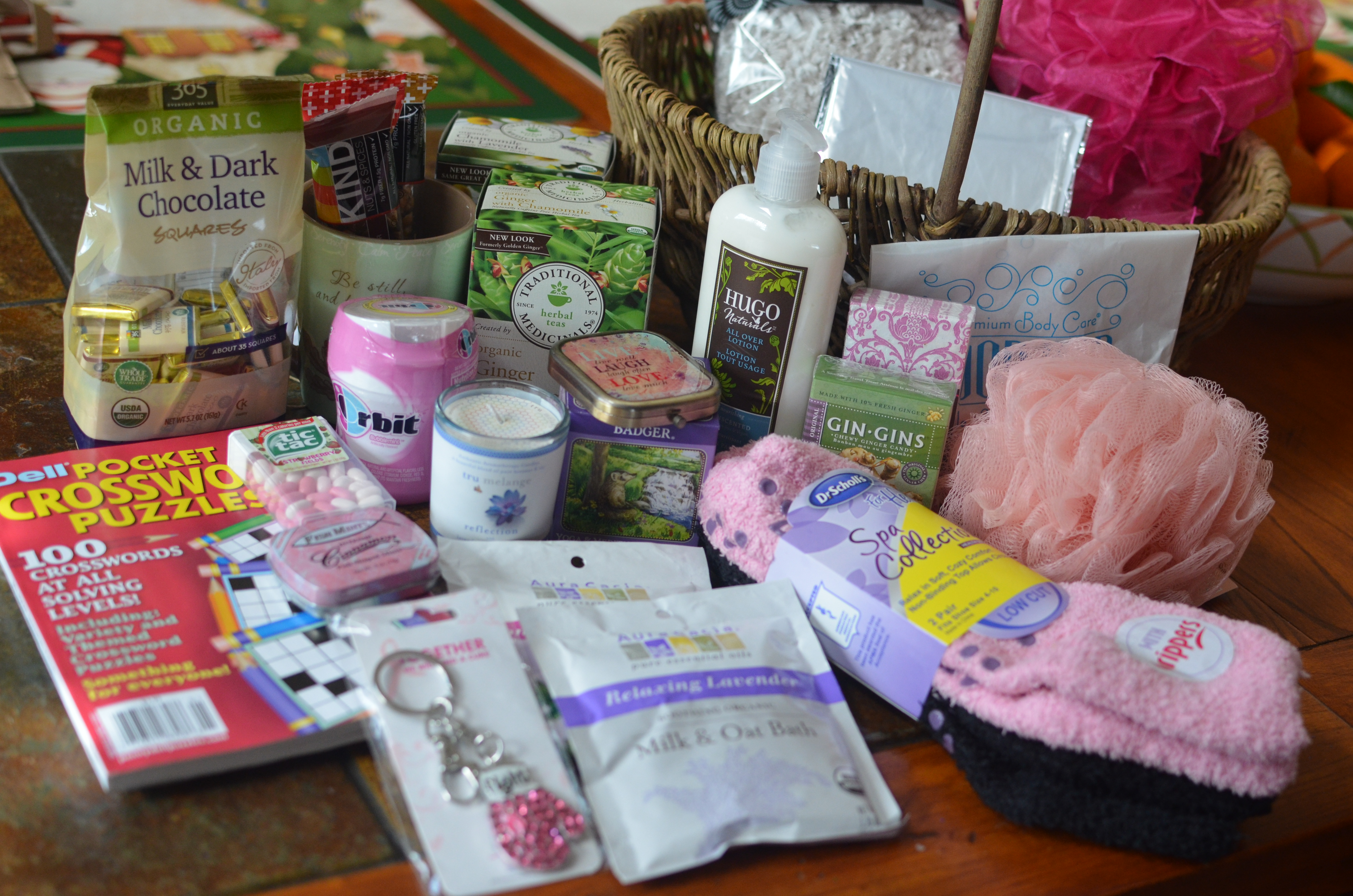 Healing Cancer Gift Basket