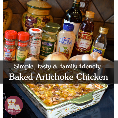 Artichoke Chicken Dinner