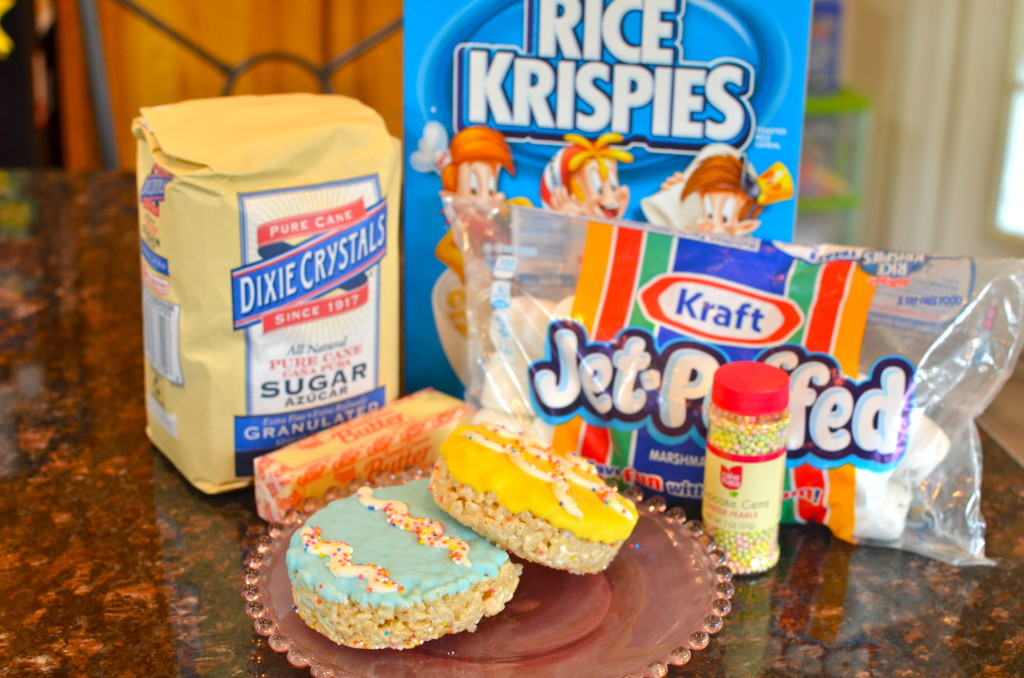 Rice Krispie Treat Easter Eggs
