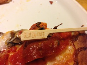 gluten free pizza tag