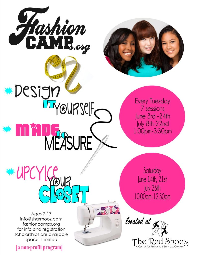 summer schedule fashion camp 2014-2