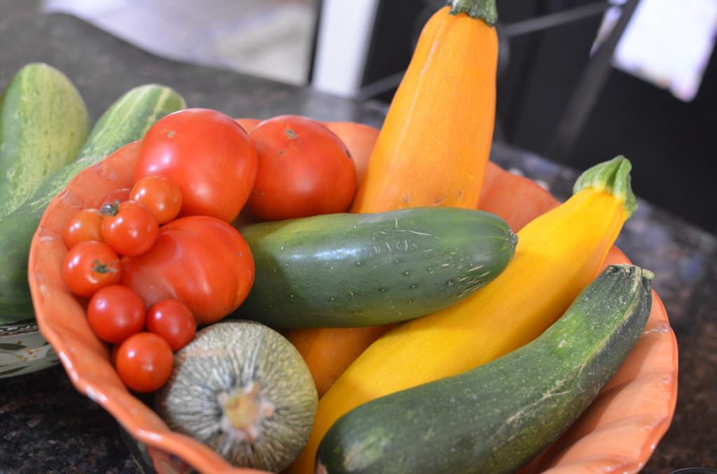 Vegetable Garden veggies