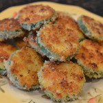 Zucchini Parmesan Crisps – the perfect after school snack