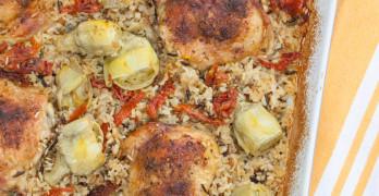 mediterranean chicken bake recipe