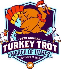 Turkey Troy Fun Run March of Dimes Baton Rouge