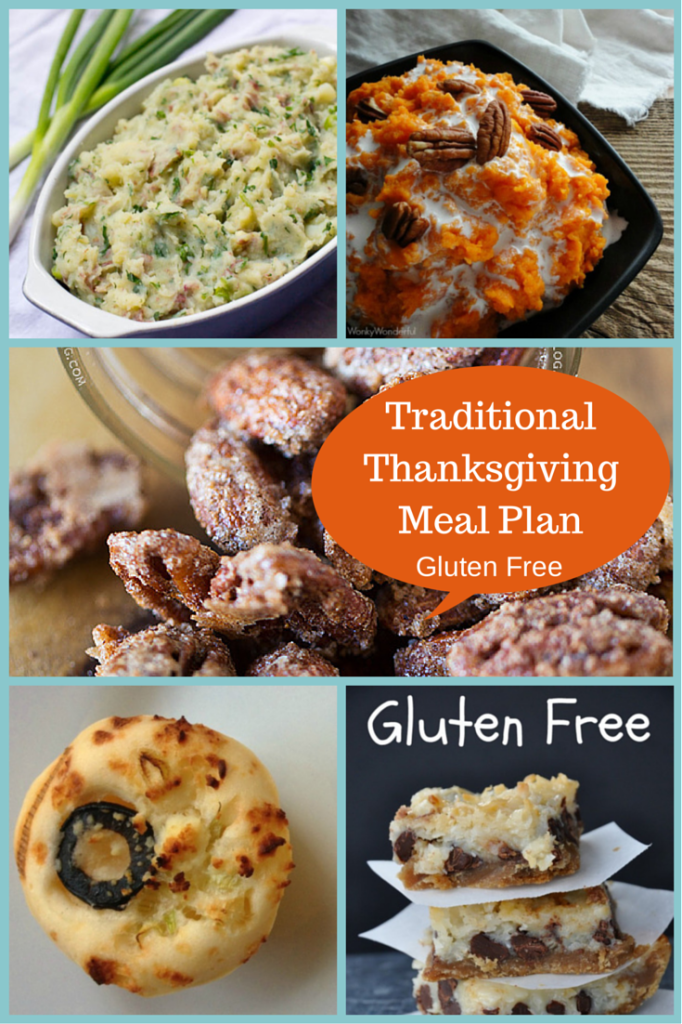 Traditional Thanksgiving Meal Plan - Gluten Free