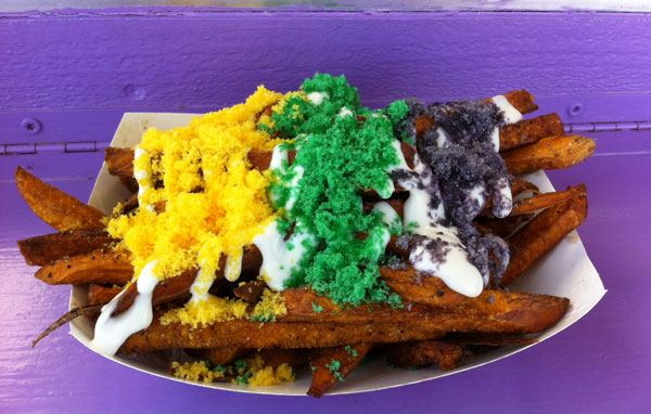 king cake fries