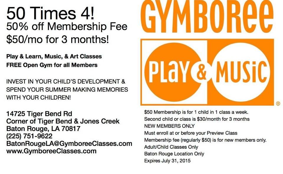 Gymboree Baton Rouge