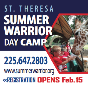 St. Theresa Summer Warrior Day Camp!