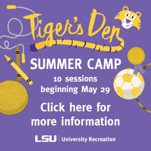 Baton Rouge Summer Camps - LSU Tiger Den