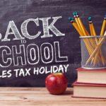 Louisiana Tax Free Weekend Shopping