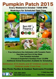 Barn Hill Preserve Pumpkin Patch 2015 @ Barn Hill Preserve | Ethel | Louisiana | United States