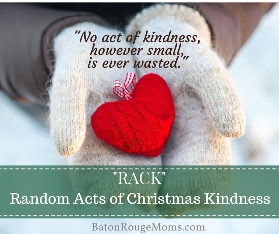 Random Acts of Christmas Kindeness