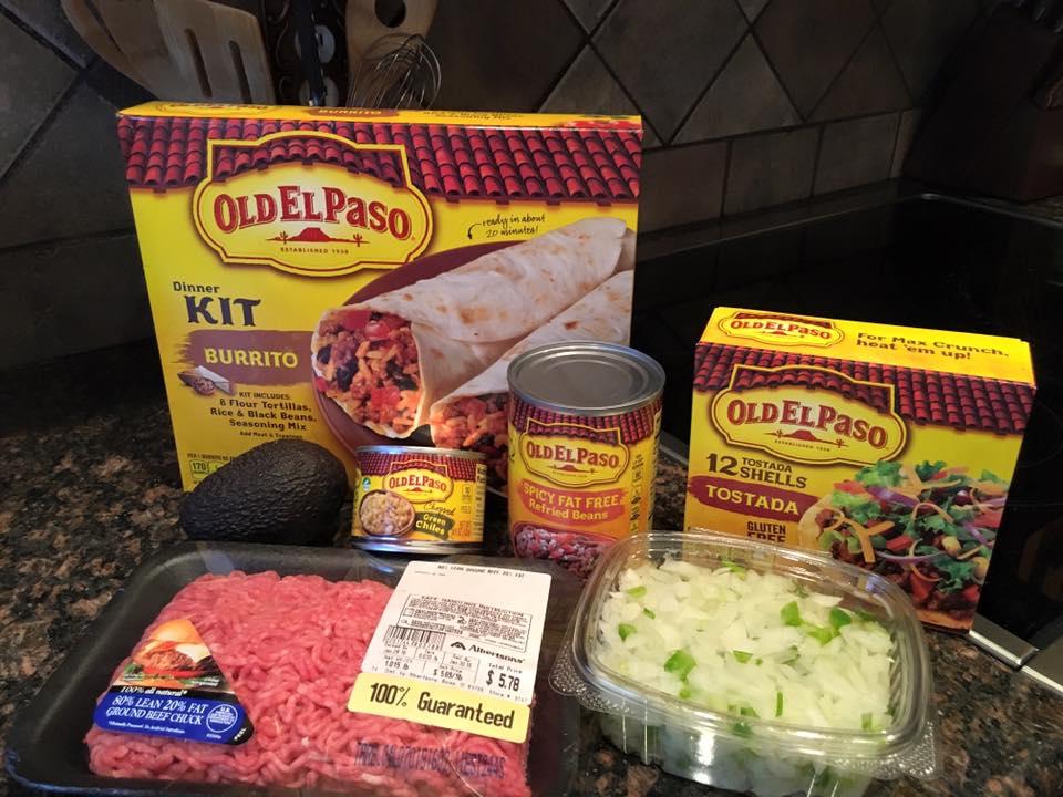 old el paso burrito kit instructions