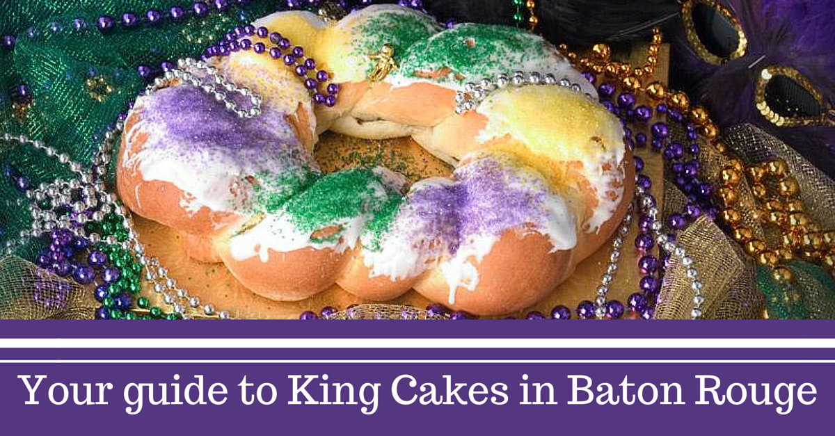King Cakes in Baton Rouge