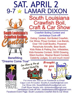 South Louisiana Crawfish Boil, Craft & Car Show