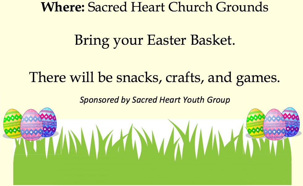 Sacred Heart Easter Egg Hunt