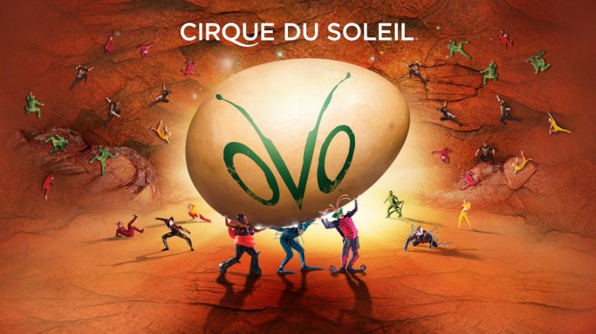 Cirque du Soleil OVO Baton Rouge