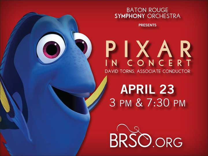 Baton Rouge Symphony Orchestra for Pixar in Concert