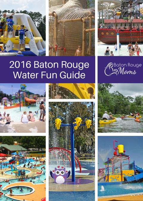 2016 Baton Rouge Water Parks, Splash, Pads, Pools, Summer