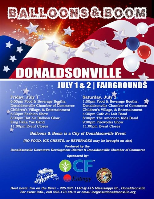 Donaldsonville Fourth of July