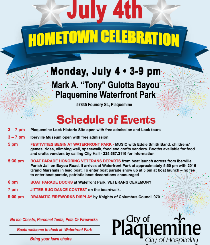 16th Annual July 4th Hometown Celebration