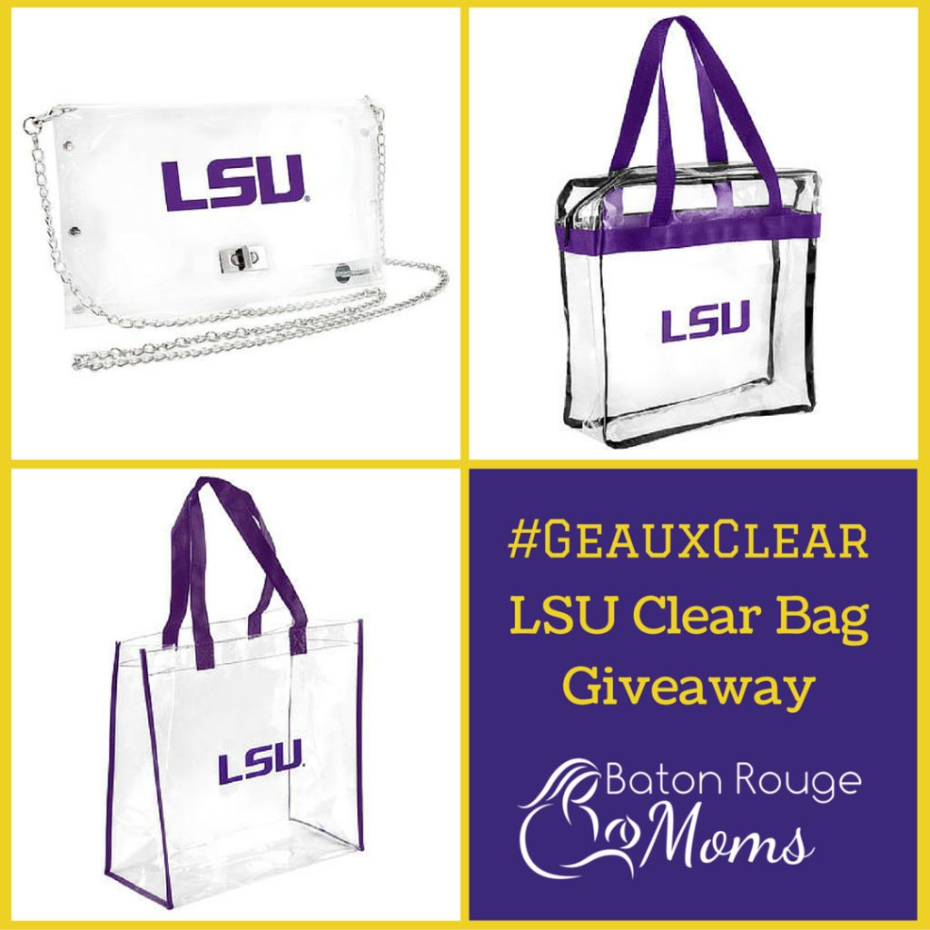 #GeauxClearLSU BagGiveaway