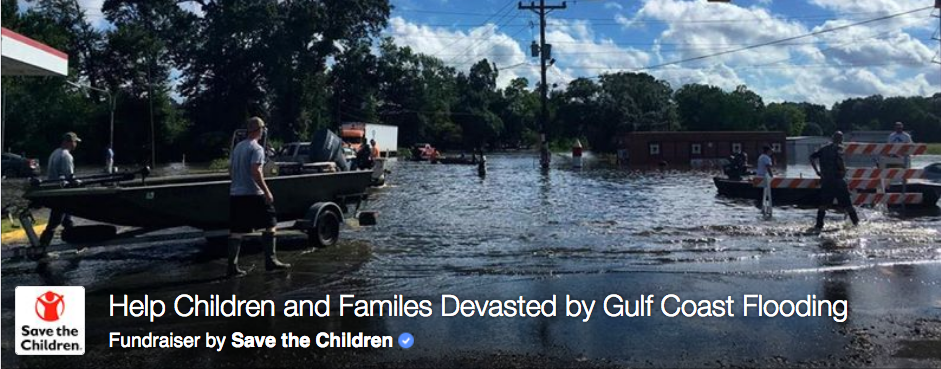 Save the Children in Louisiana