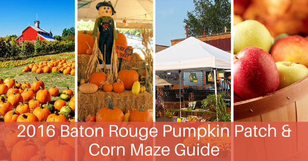 2016 Baton Rouge Pumpkin Patch & Corn Maze Guide