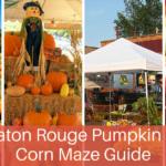 Baton Rouge Pumpkin Patch & Corn Maze Guide – 2016