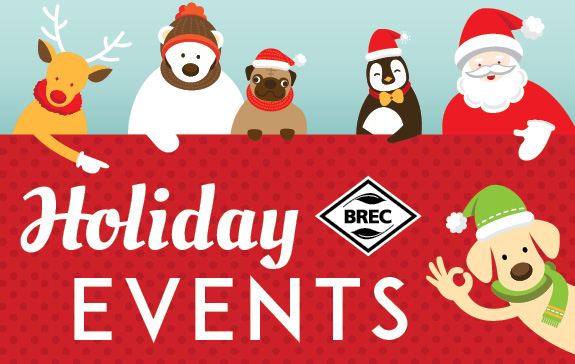 BREC Holiday Events