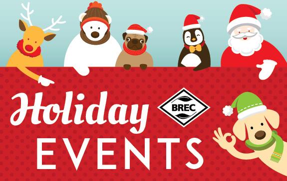 BREC Holiday Events