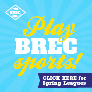 Play BREC Sports Baton Rouge