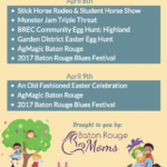 Baton Rouge Moms Weekend Roundup: Family Friendly Things To Do in Baton Rouge