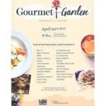 Gourmet in the Garden 2017- Baton Rouge – Ticket Giveaway