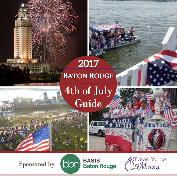Fourth of July Celebrations in Baton Rouge