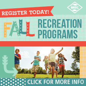 BREC Baton Rouge Fall Events
