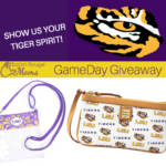 LSU Football GameDay Giveaway – Dooney & Bourke™ LSU Wristlet