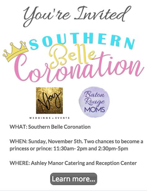 Southern Belle Coronation Baton Rouge