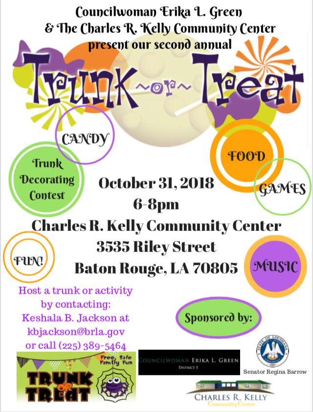 Baton Rouge Trunk or Treat
