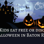 Kids Eat Free or Discounted in Baton Rouge – Halloween Edition