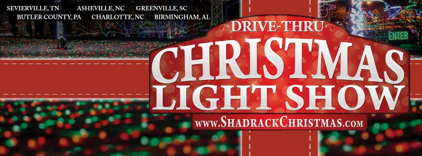 Shadrack Christmas Wonderland- A Drive Thru Christmas Light Show