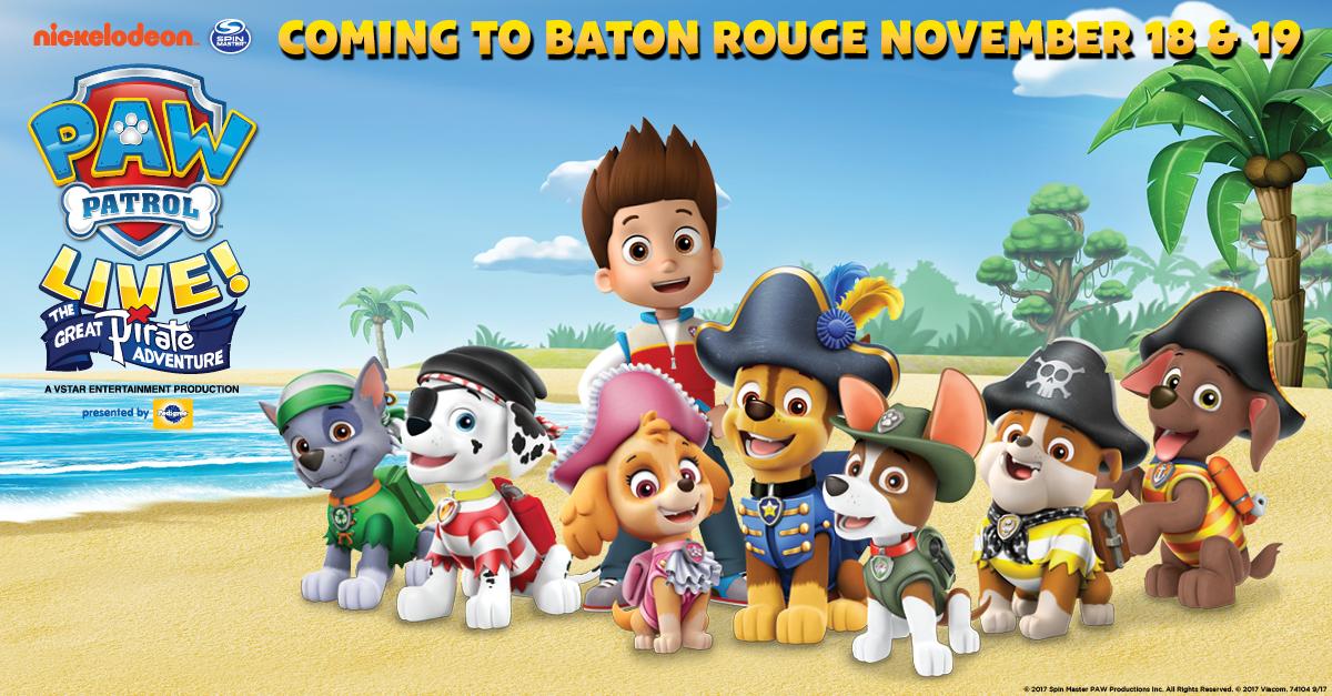 Paw Patrol Live Baton Rouge