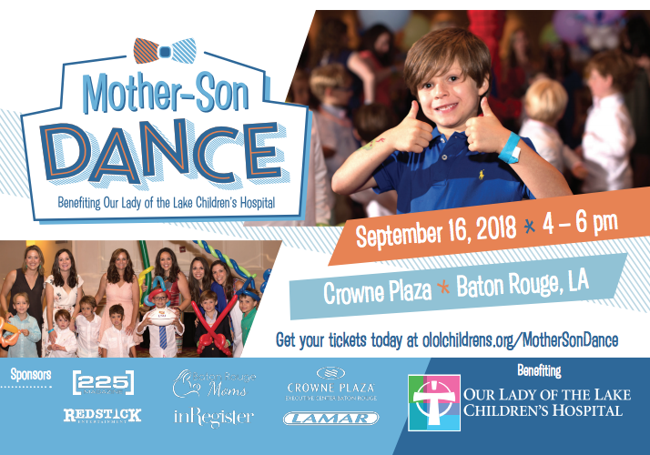 Mother Son Dance Baton Rouge