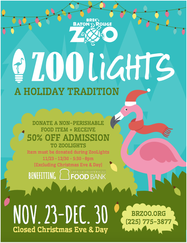 Baton Rouge Zoo Lights